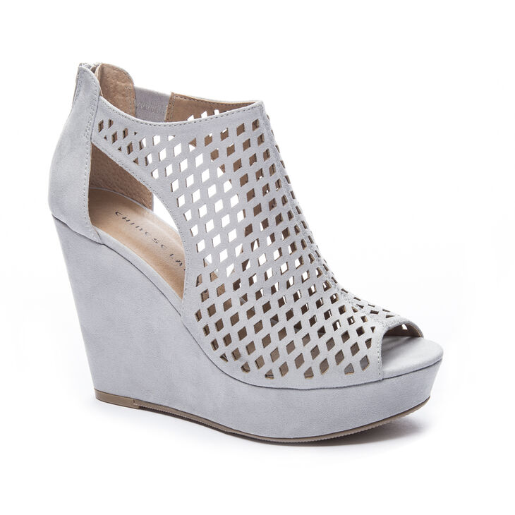 Chinese Laundry Indie Wedges in Grey/blue