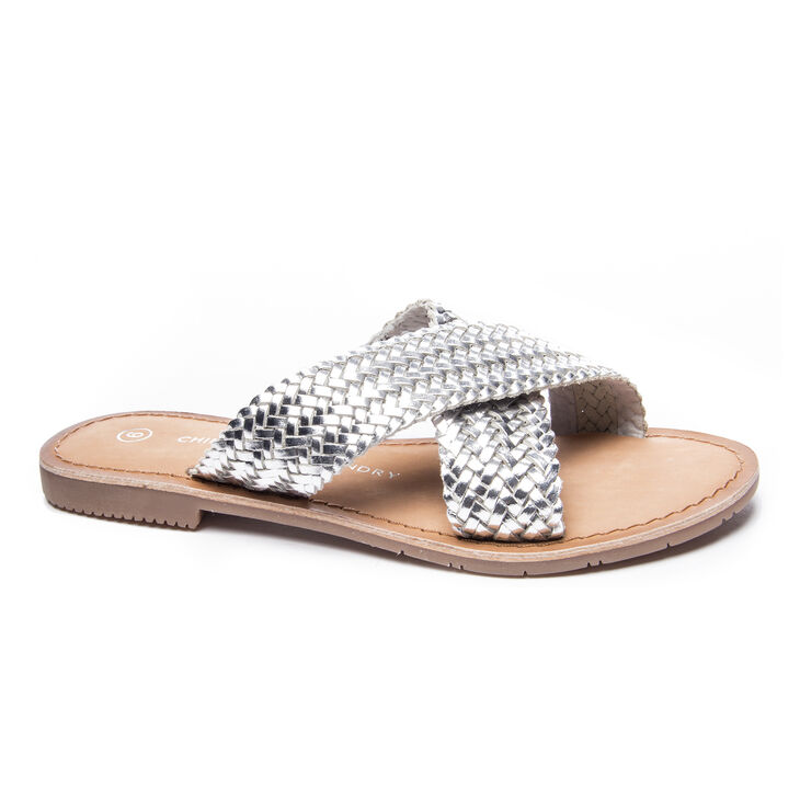 Chinese Laundry Popular Flats in Silver