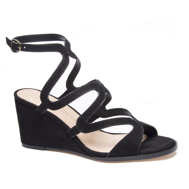 Chinese Laundry Radical Wedges in Black