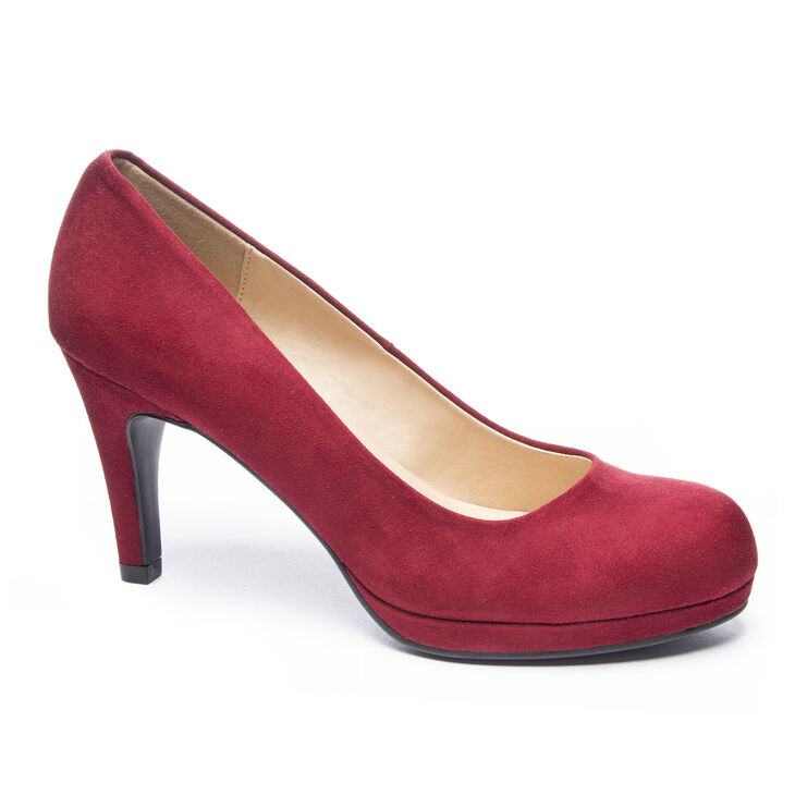 Chinese Laundry Nilah Pumps in Cherry Red