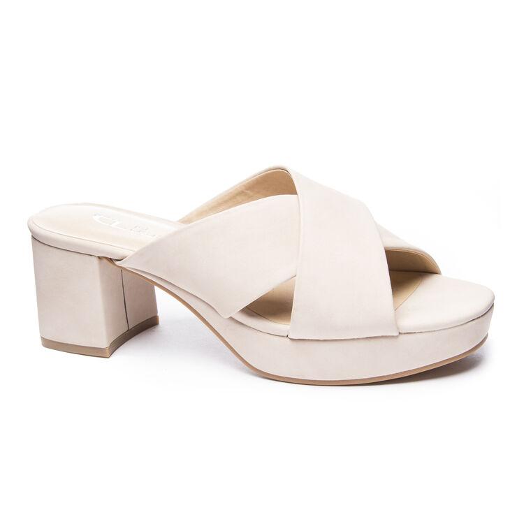 Chinese Laundry Kismet Slide Heels in Pale Nude