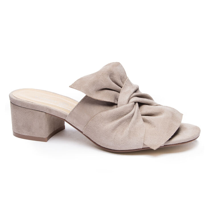 Chinese Laundry Marlowe Slide Heels in Grey