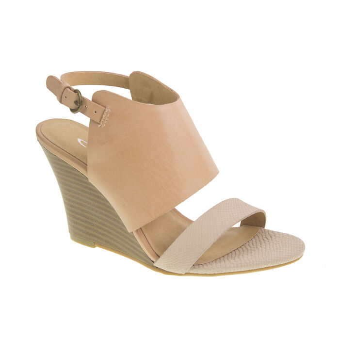 Chinese Laundry Baja Snake Sandals in Taupe/blush Size 11.0