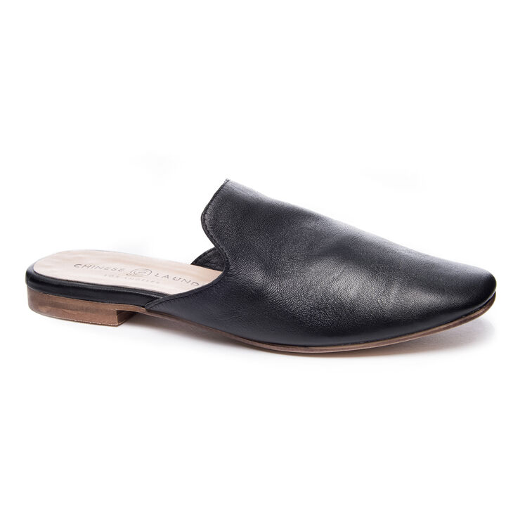Chinese Laundry Jump To It Mule Flats in Black