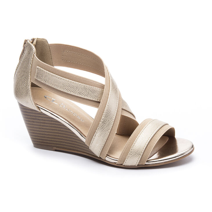 Chinese Laundry Nia Pumps in Gold/natural