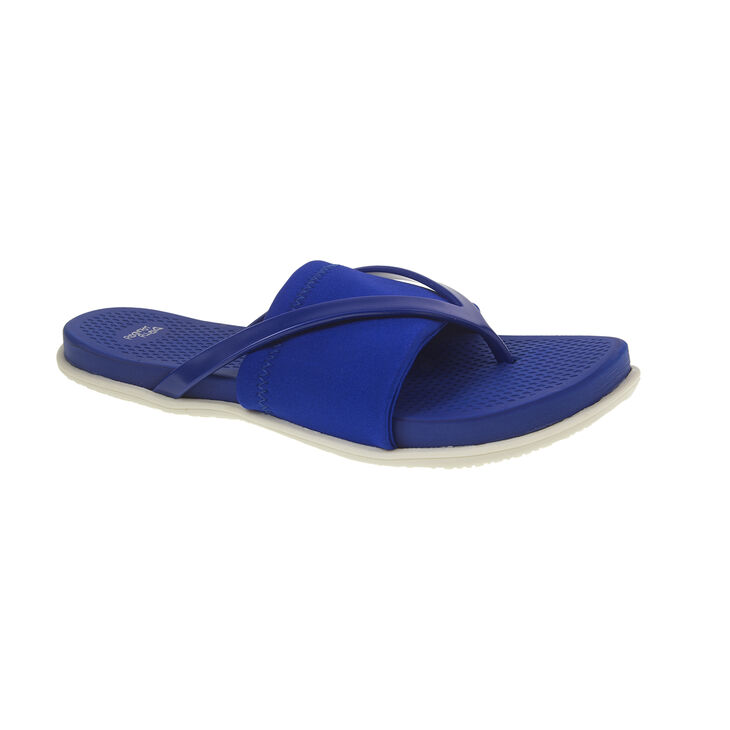 Chinese Laundry Awesome Thong Sandals in Blue Size 7.0