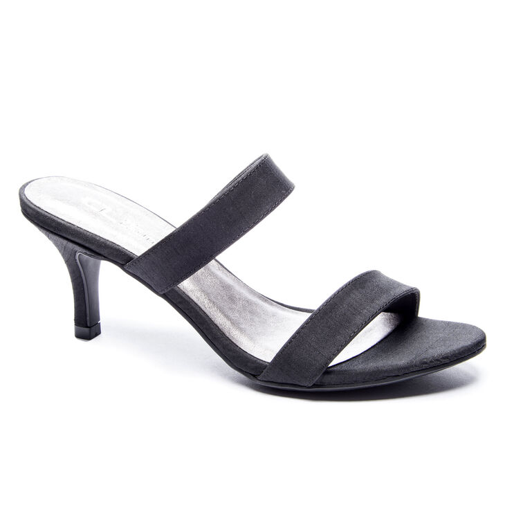 Chinese Laundry Juliett Slide Heels in Black