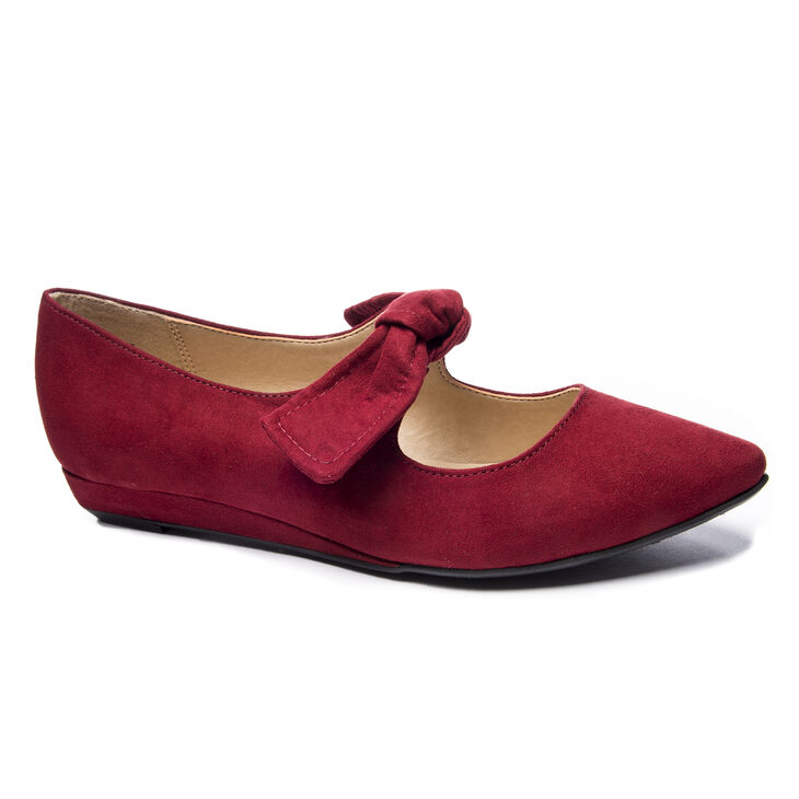 Chinese Laundry Singer Pumps in Cherry Red