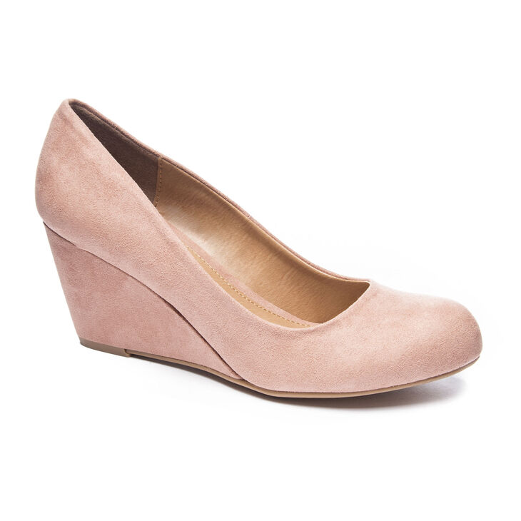 Chinese Laundry Nima Pumps in Dusty Rose
