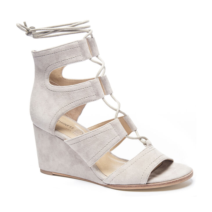 Chinese Laundry Raja Wedges in Grey