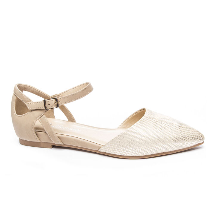 Chinese Laundry Helena Flats in Gold