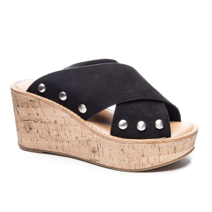 Chinese Laundry Oahu Slide Heels in Black