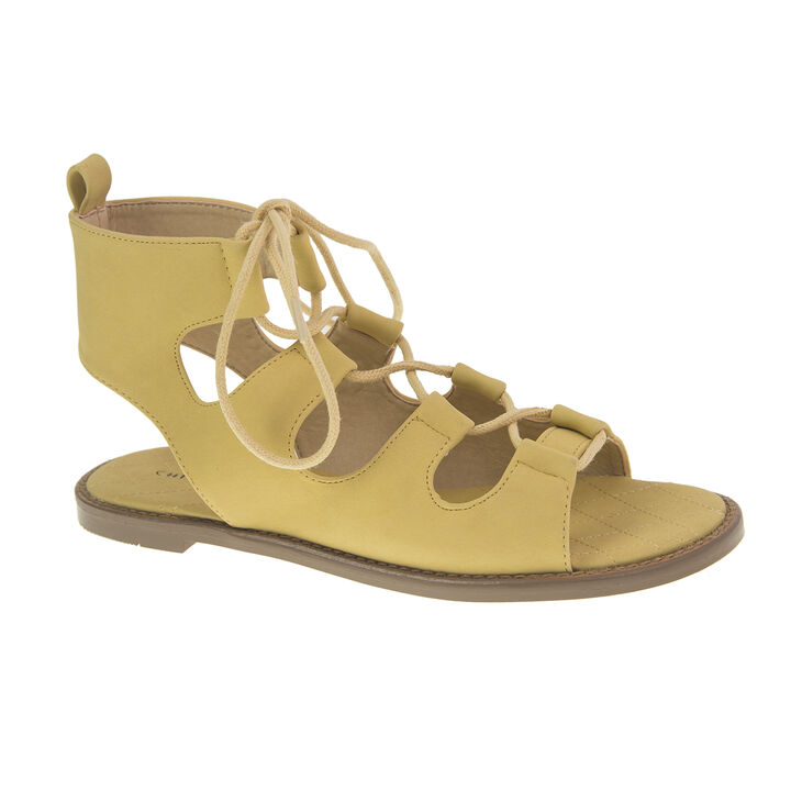 Chinese Laundry Guess Who Nubuck in Yellow