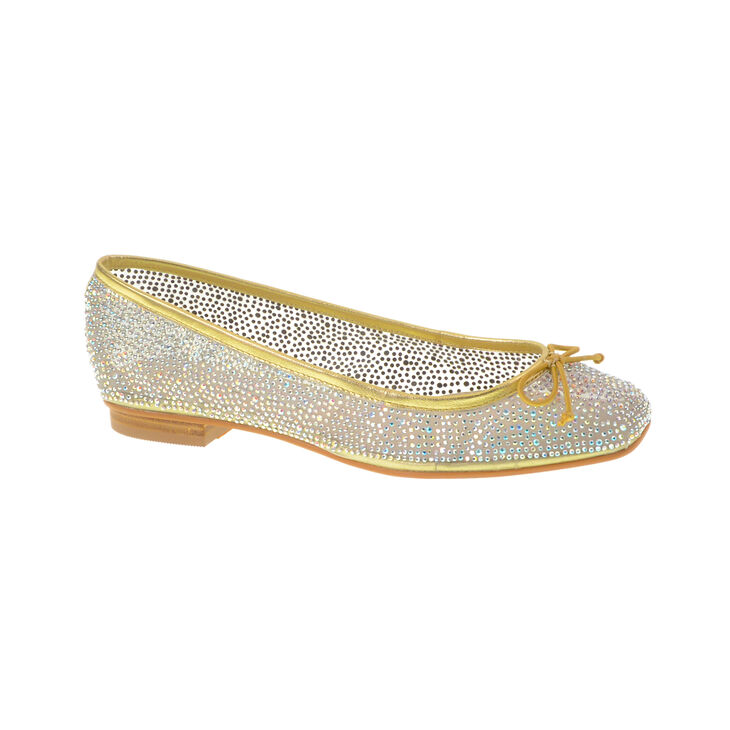 Chinese Laundry Allie Ballet Flats in Gold Size 10.0