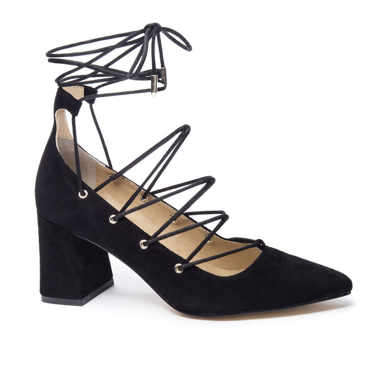 Chinese Laundry Odelle Block Heels in Black