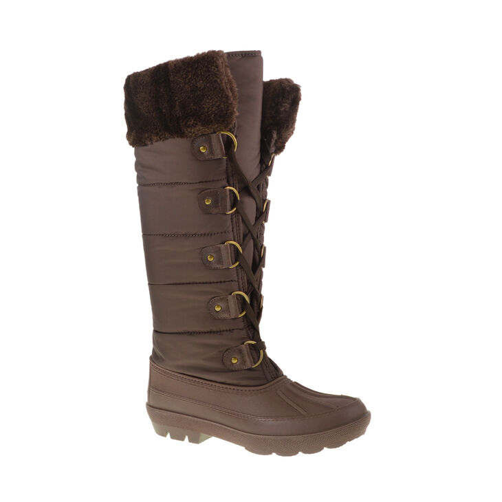 Chinese Laundry Big Chill Boots in Dark Brown Size 10.0