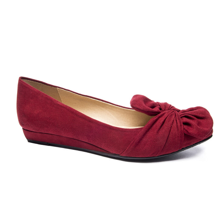 Chinese Laundry Super Cute Ballet Flats in Cherry Red