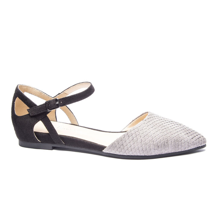 Chinese Laundry Helena Ballet Flats in Grey/black
