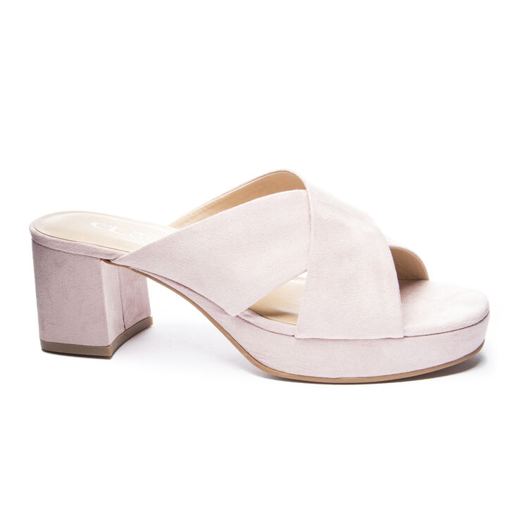 Chinese Laundry Kismet Block Heels in Rose Pink