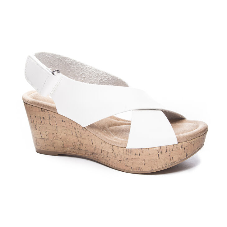 Chinese Laundry Dream Girl Sandals in White Size 6.0