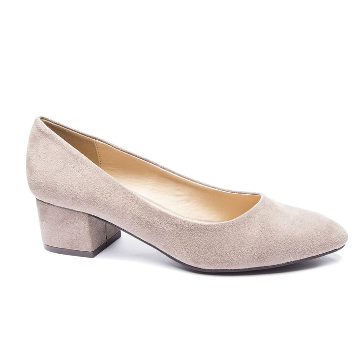 Chinese Laundry Highest Pumps in Pebble Taupe