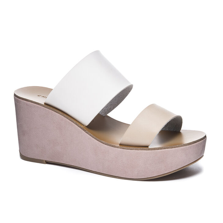 Chinese Laundry Ollie Wedges in Natural