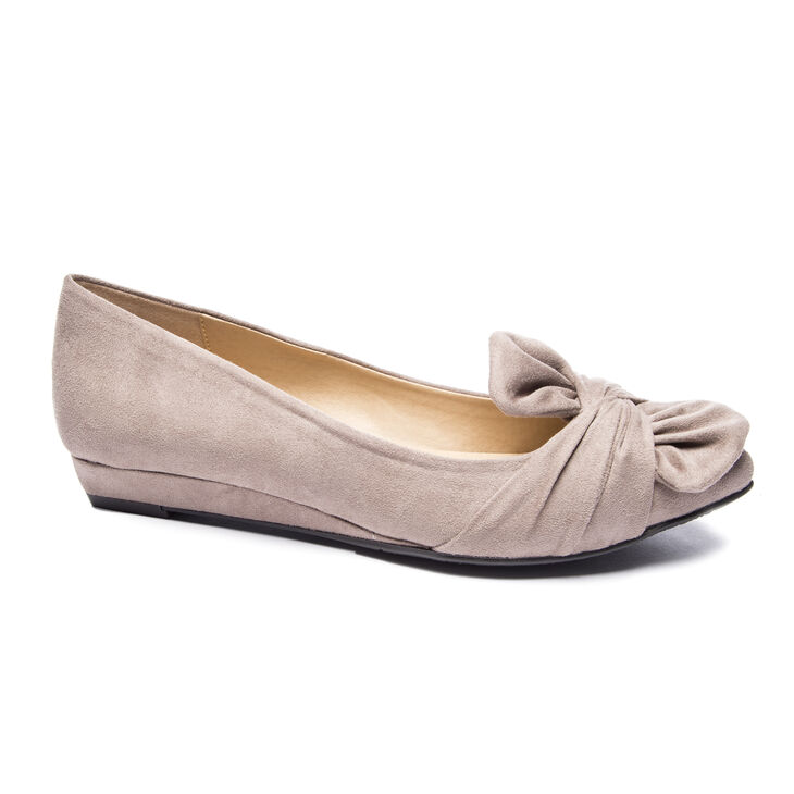 Chinese Laundry Super Cute Ballet Flats in Pebble Taupe