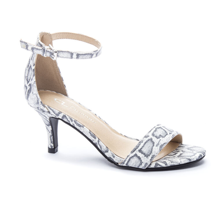 Chinese Laundry Jordin Sandals in Blk/wht Size 8.0
