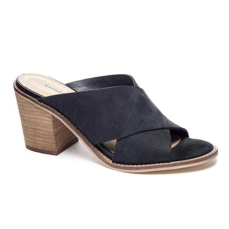 Chinese Laundry Crissa Slide Heels in Black