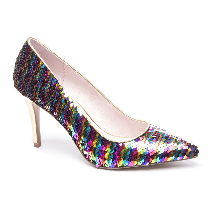 Chinese Laundry Ruthy Pumps in Rainbow