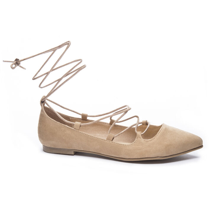 Chinese Laundry Endless Summer Flats in Camel