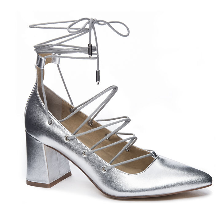 Chinese Laundry Odelle Pumps in Silver