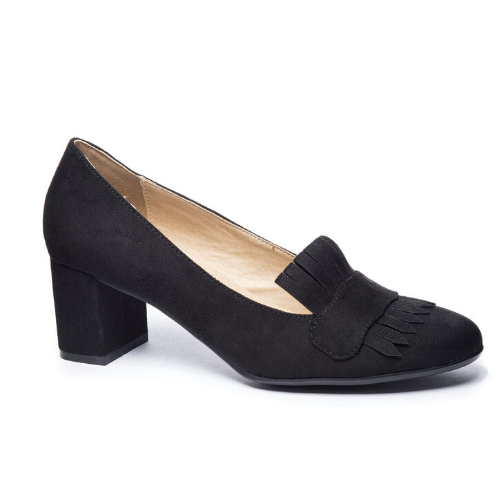 Chinese Laundry Anete Loafers in Black   Fringe