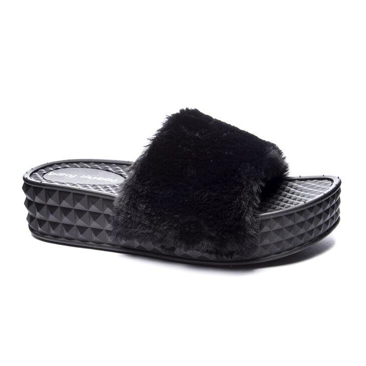 Chinese Laundry Sonny Slide Heels in Black