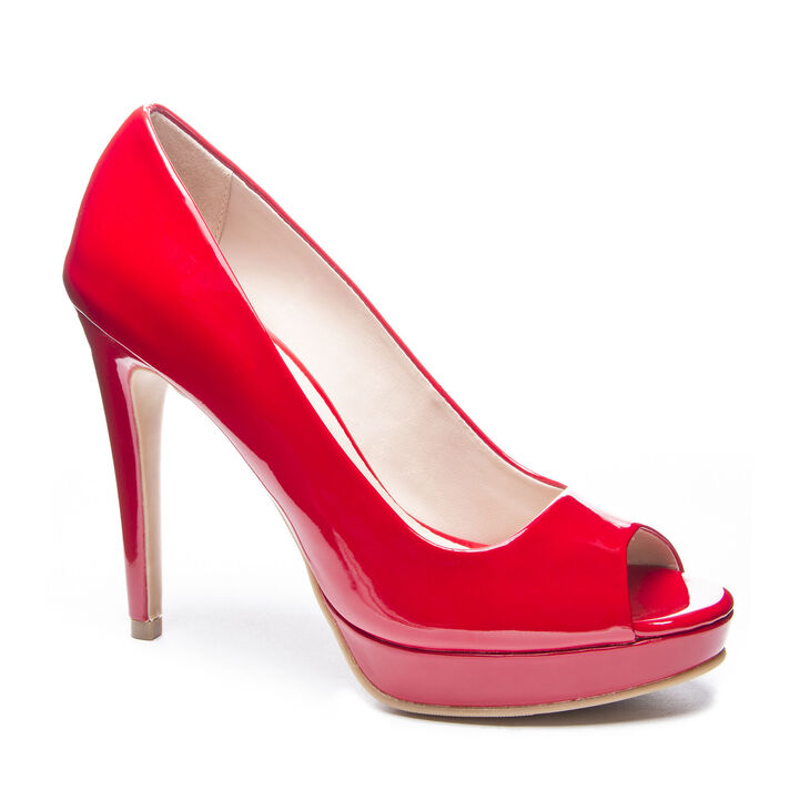 Chinese Laundry Holliston Pumps in Red