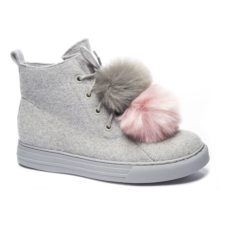 Chinese Laundry Fur Ever Sneakers in Grey