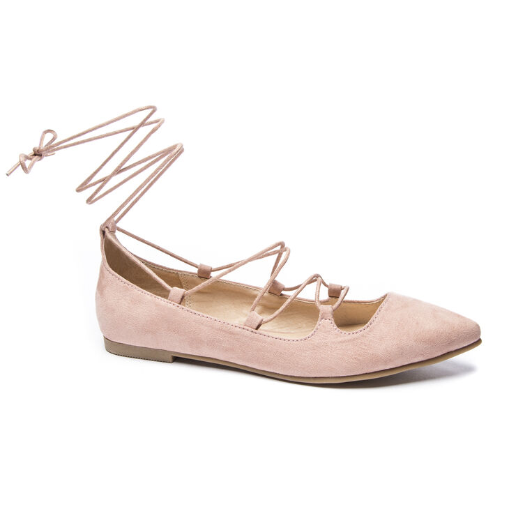 Chinese Laundry Endless Summer Flats in Rose