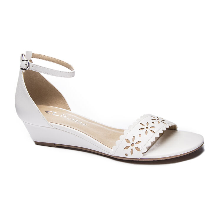 Chinese Laundry Mila Wedges in White