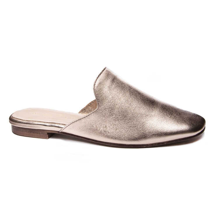 Chinese Laundry Jump To It Mule Flats in Rose Gold