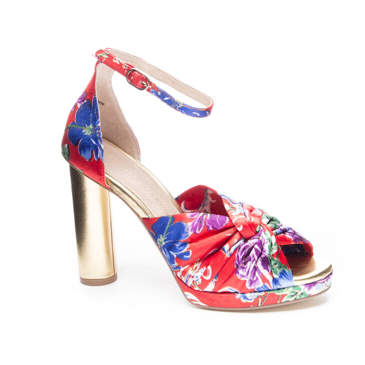 Chinese Laundry Flory Block Heels in Red