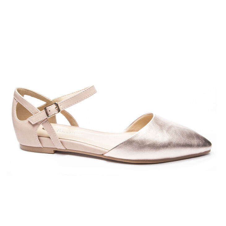 Chinese Laundry Helena Flats in Rose Gold