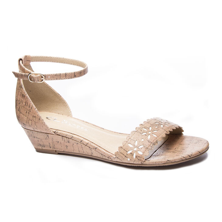 Chinese Laundry Mila Wedges in Natural
