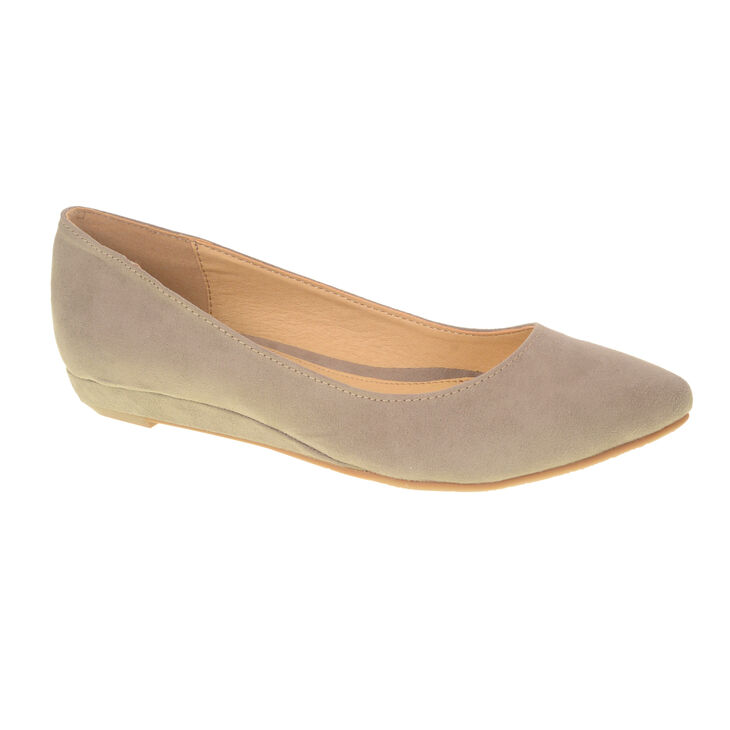 Chinese Laundry Suzie Suede Pumps in Dark Taupe