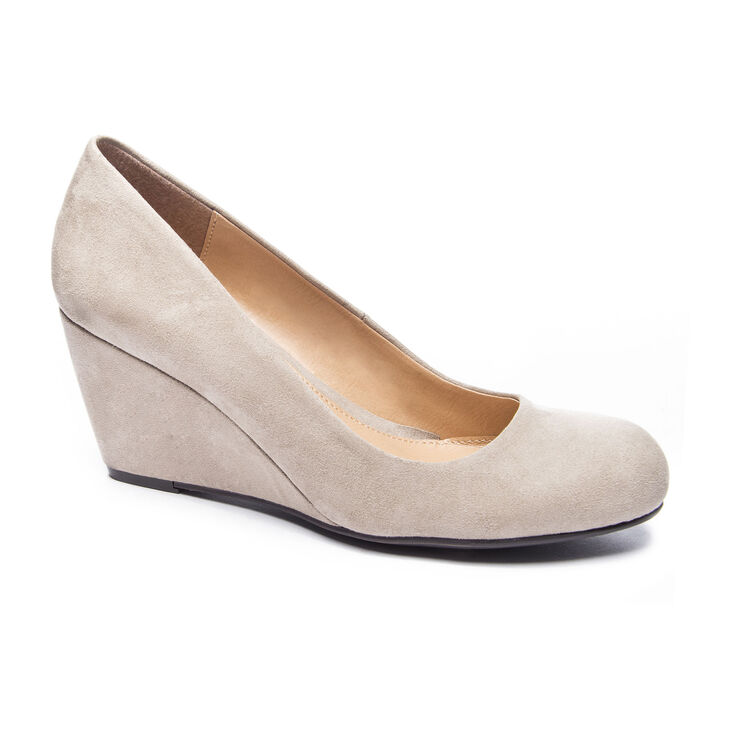 Chinese Laundry Nima Pumps in Dark Taupe