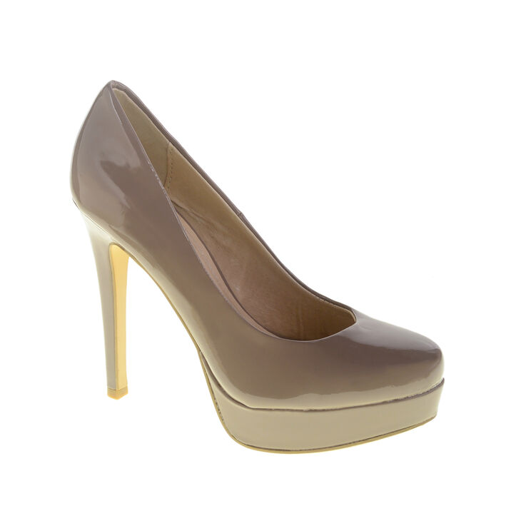 Chinese Laundry Wow Pumps in Taupe