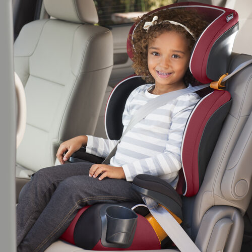 the belt positioning booster car seat by chicco