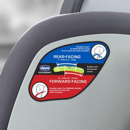 Chicco Nextfit Convertible Car Seat Matrix