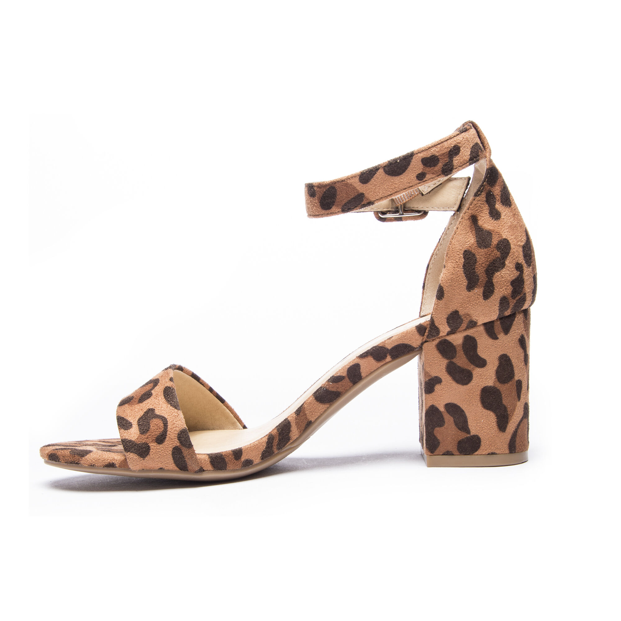 Cl By Laundry Jody Leopard Block Heel Sandal Chinese Laundry